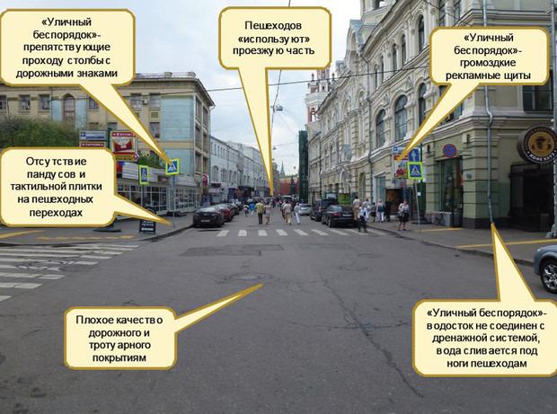 Этапы работы на Николькой улице. Слайды предоставлены правительством Москвы. Изображение №1.