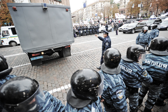 Copwatch: Действия милиции на Крещатике в день оглашения приговора Юлии Тимошенко. Зображення № 14.