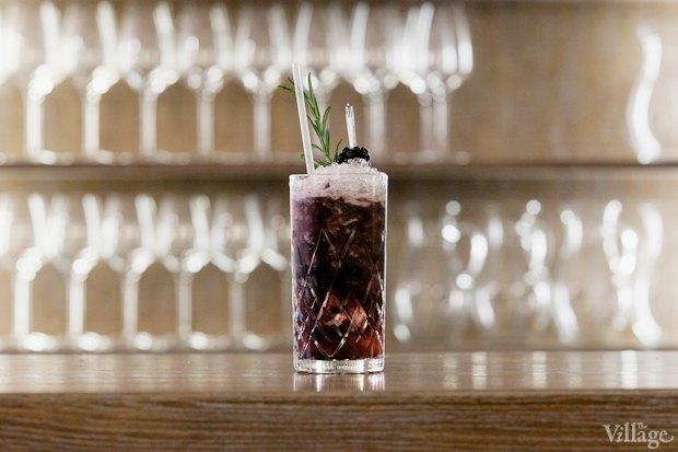 Безалкогольный коктейль Contribuir (ежевика, яблочный сок, сок лайма, сахарный сироп) — 320 рублей. Изображение № 18.
