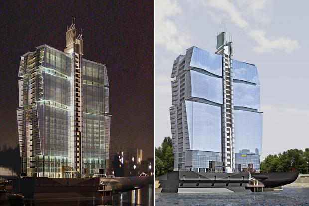На бумаге: 8 нереализованных архитектурных проектов в Киеве. Зображення № 72.