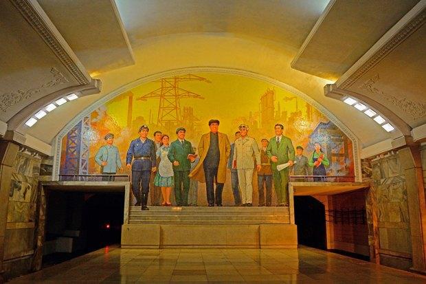 Метро в Пхеньяне. Изображение № 17.