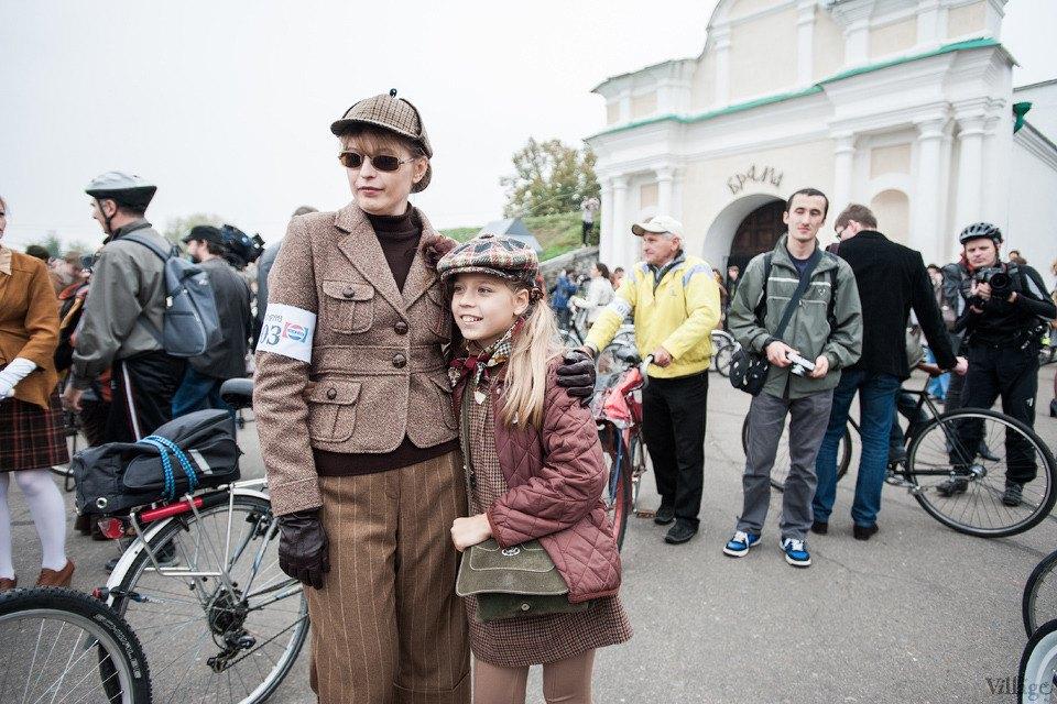 Second Time: В Киеве прошёл второй велокруиз в стиле ретро. Изображение № 4.