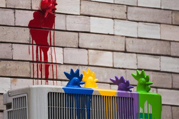 Киев — Петушки: Новый вид городского стрит-арта. Изображение № 19.