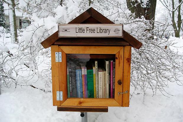 Идеи для города: Публичные библиотеки-скворечники. Изображение №4.