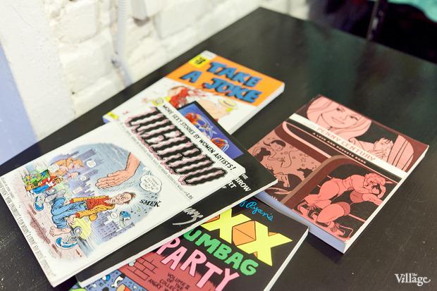 Раскадровка: 6 магазинов илавок с комиксами вПетербурге. Изображение № 52.