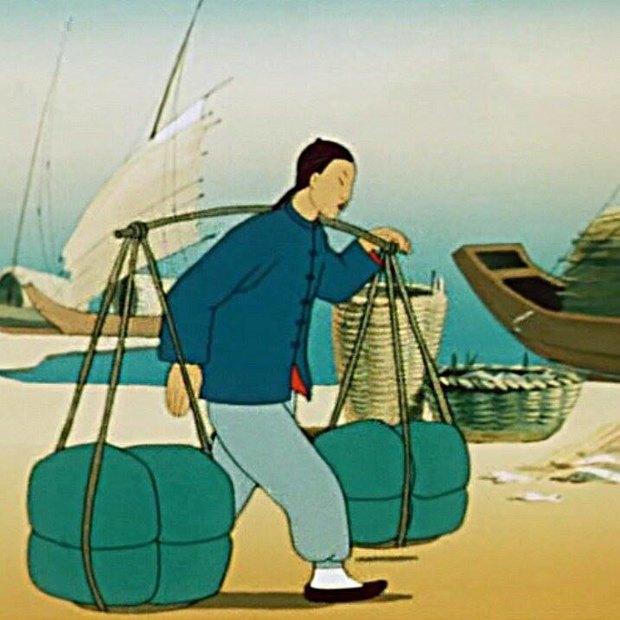 Кадр из мультфильма «Желтый аист» (1950 год) —иллюстрацию к новости прислали владельцы кафе. Изображение № 2.