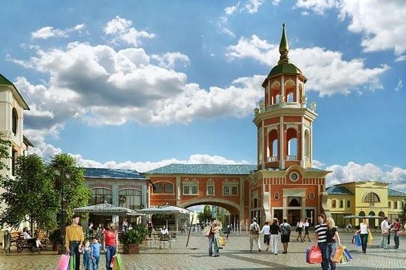 Изображение 4. В Котельниках откроется крупный аутлет-центр.. Изображение № 5.