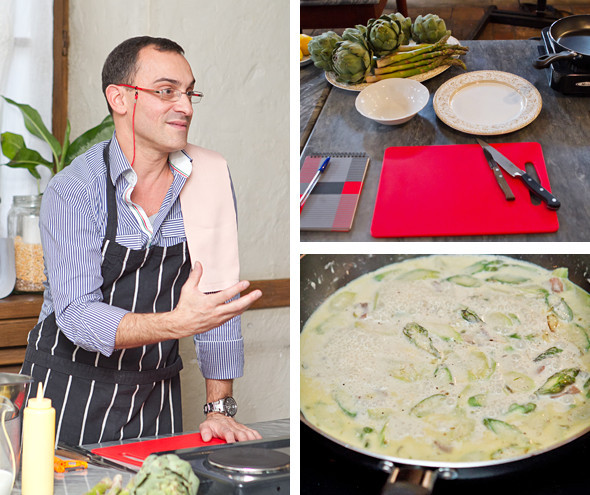 Время есть: Репортаж с кулинарного мастер-класса в школе Osteria Montiroli. Изображение № 3.