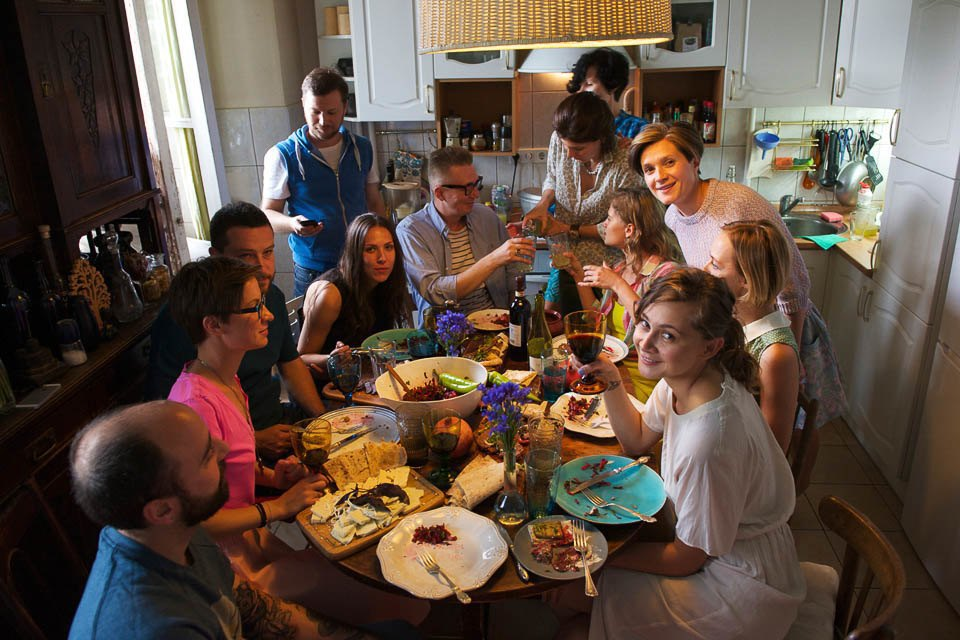 Кто изачем устраивает домашние званые ужины иобеды вМоскве. Изображение № 51.