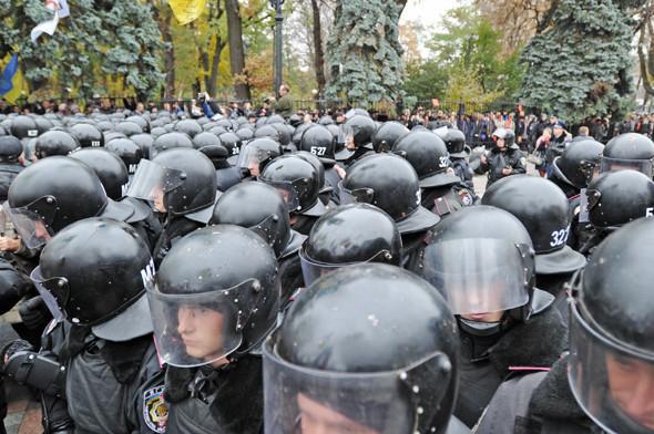 Copwatch: Действия милиции на акции «Вперёд!» возле Верховной рады. Изображение № 19.