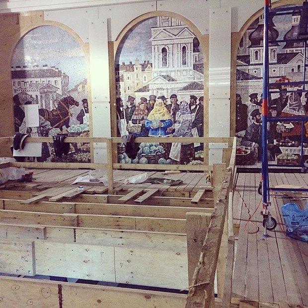 Завтра откроется наземный вестибюль «Спасской». Изображение № 4.