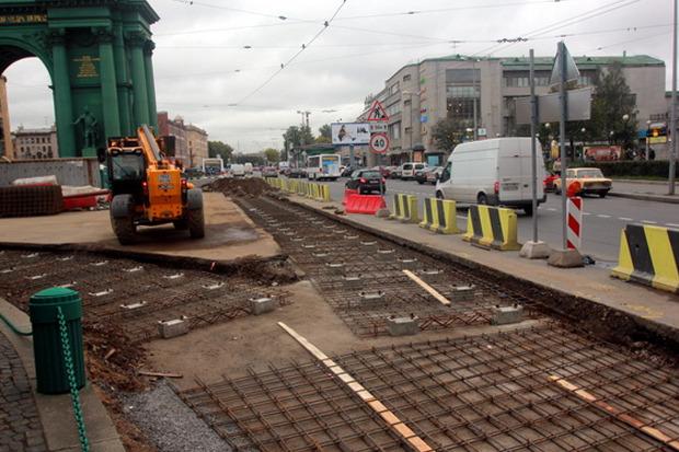 Капитальный ремонт путей на площади Стачек. Изображение № 2.