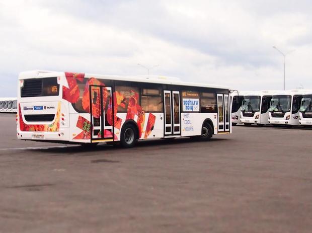 На городские маршруты выйдут олимпийские автобусы. Изображение № 2.