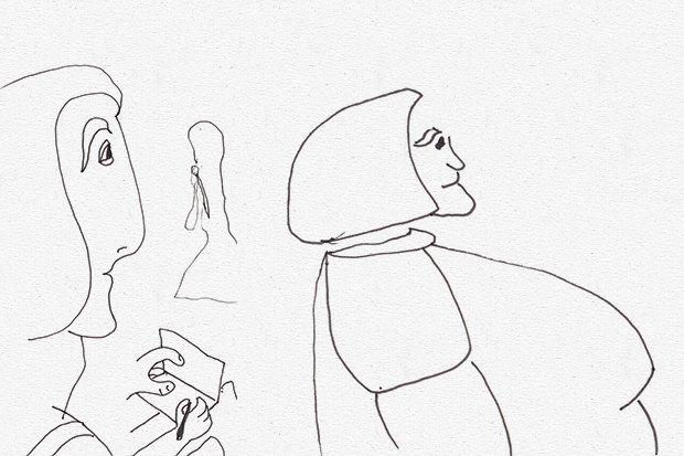 Клуб рисовальщиков: Лекция Линор Горалик. Изображение № 3.