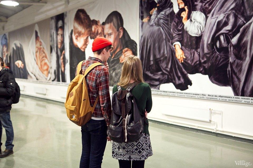 Люди в городе: Первые посетители выставки Icons в Петербурге. Изображение № 15.