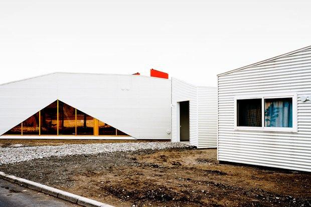 Дом престарелых с деменциями в Хоккайдо (Япония) Архитекторы: Sou Fujimoto Architects. Фотограф: Daici Ano. Изображение № 4.