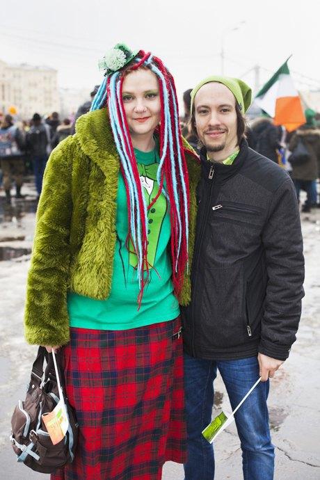 Люди в городе: Участники парада вчесть Днясвятого Патрика. Изображение № 21.
