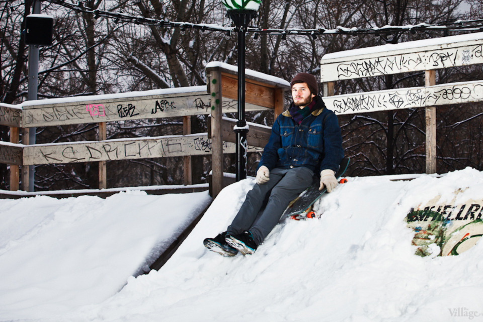 Люди в городе: Где катаются скейтеры зимой. Изображение №5.