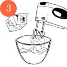 Рецепты шефов: Мороженое счаем матча, с малиной исмоцареллой и базиликом. Изображение № 18.