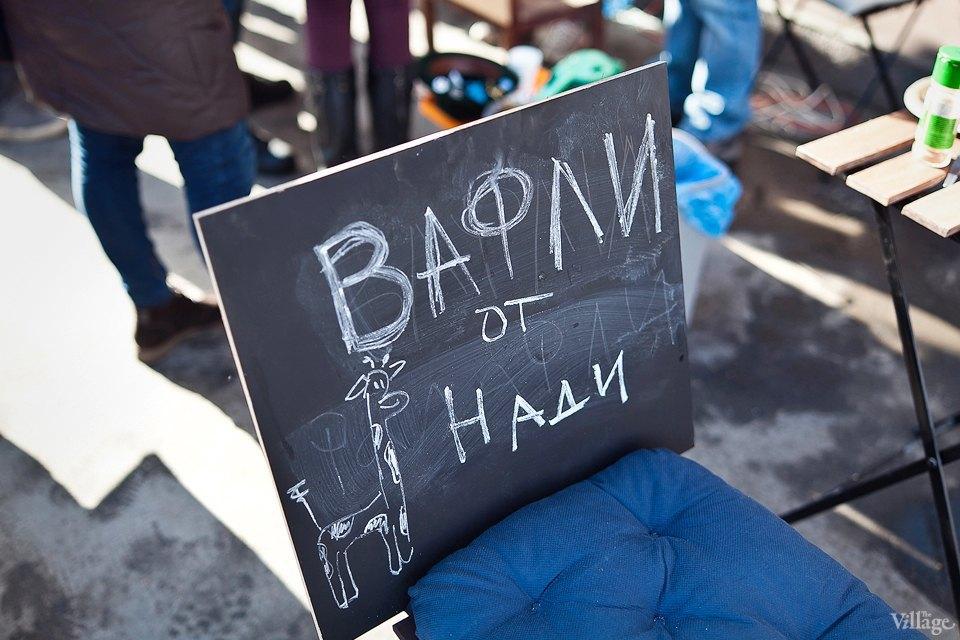 Фоторепортаж: Как открыть своё временное кафе на улице. Изображение № 3.