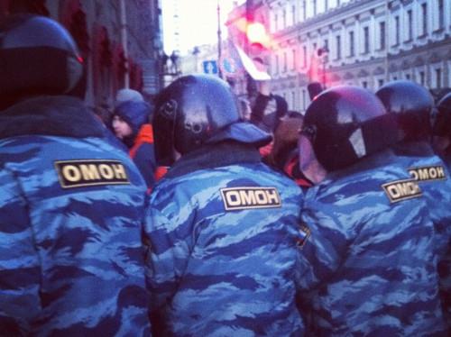 Онлайн-трансляция: Митинги в Москве и Петербурге. Изображение № 28.
