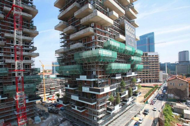 Идеи для города: Вертикальный лес вцентре Милана. Изображение № 11.