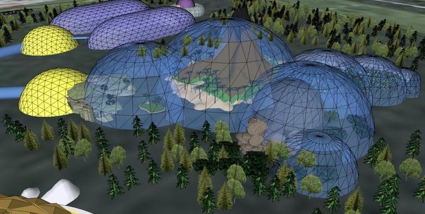 Комитет по инвестициям представил концепцию нового зоопарка. Изображение № 2.