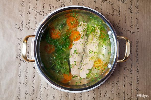 Рыбная похлёбка с лососем — 280 рублей. Изображение № 37.