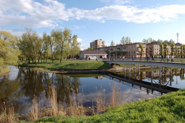 Зелёная зона у железнодоржной станции «Колпино». Изображение № 20.