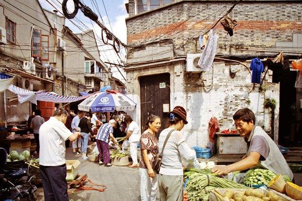 Часть целого: Старый город вШанхае. Изображение № 8.