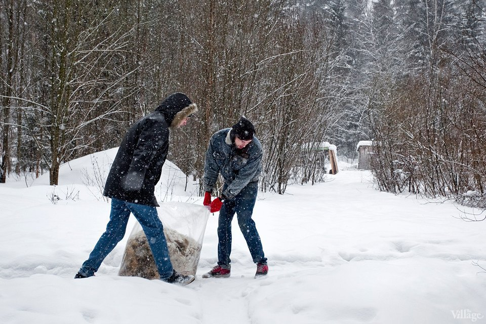 Люди в городе: Волонтёры вприюте длядиких животных. Изображение № 22.