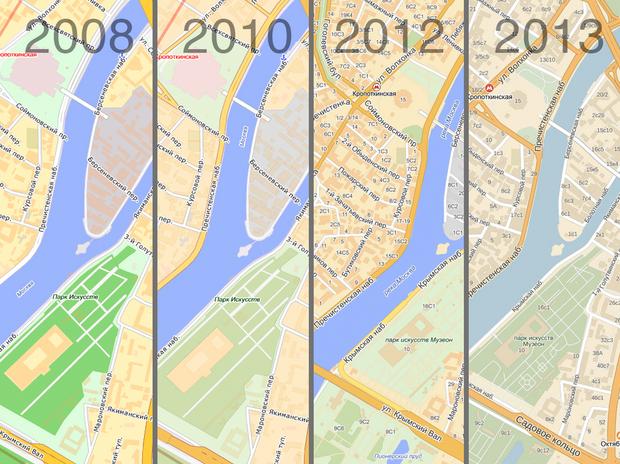 «Яндекс» выпустил подробную карту мира. Изображение № 1.