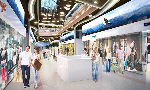 Пополнение: 6 новых торгово-развлекательных центров вКиеве. Изображение № 27.