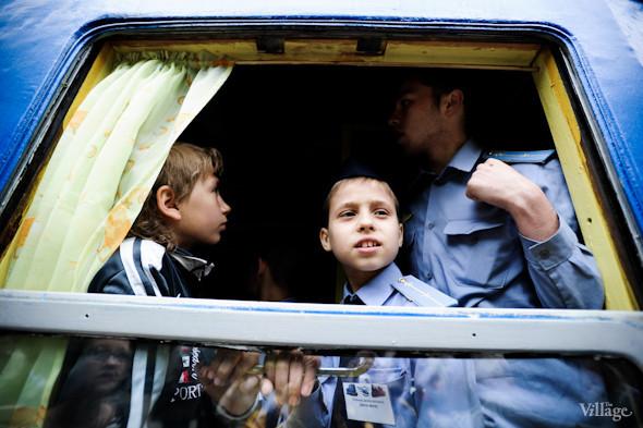 Фоторепортаж: В Киеве открылся сезон на детской железной дороге. Зображення № 37.