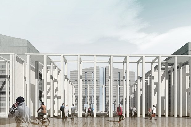 Суд идёт: четыре проекта квартала на месте «Набережной Европы». Изображение №21.