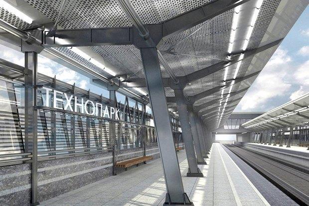 Станцию «Технопарк» оформят в индустриальном стиле. Изображение № 2.
