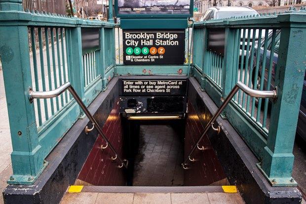 Как метро Нью-Йорка,