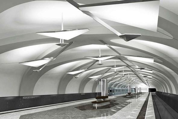 Метрополитен показал дизайн трех новых станций. Изображение № 6.