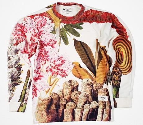 Свитшот из коллекции Botanical Layers Маши Ревы, 1 000 грн.. Изображение № 1.