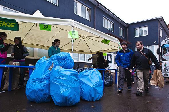 Эко Москвы: Участники акции «Зелёный weekend» о сборе вторсырья. Изображение № 4.