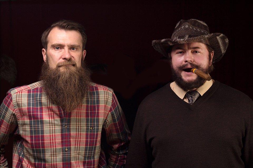 Участники российского чемпионата бородачей иусачей. Изображение № 4.