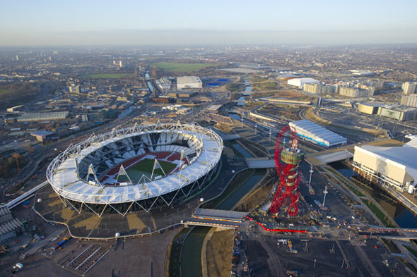 Олимпийский стадион и башня «Орбита» Аниша Капура.. Изображение № 28.