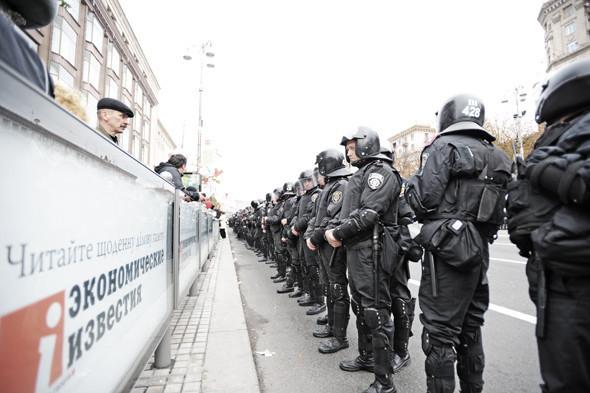 Copwatch: Действия милиции на Крещатике в день оглашения приговора Юлии Тимошенко. Зображення № 6.