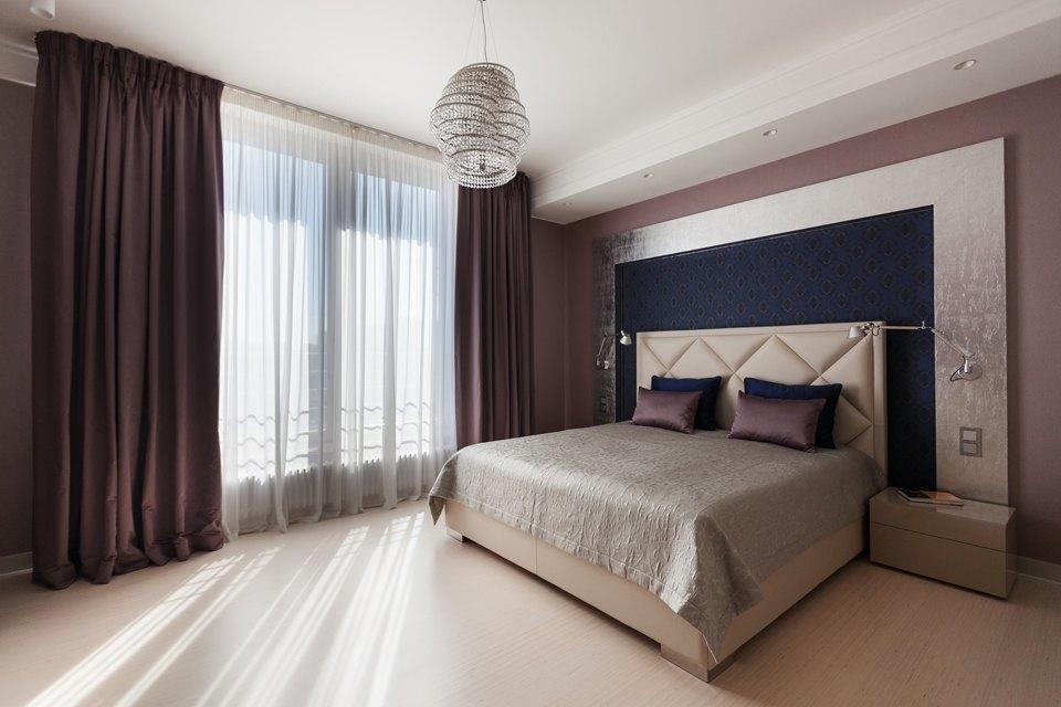 Трёхкомнатная квартира сострогим интерьером. Изображение № 16.