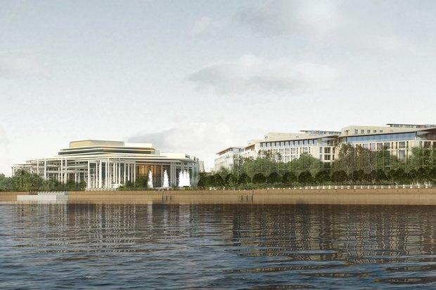 Суд идёт: четыре проекта квартала на месте «Набережной Европы». Изображение № 16.