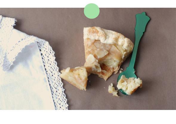 Яблочный пирог с миндальным кремом. Изображение № 2.