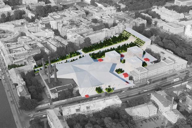 10 проектов квартала около Витебского вокзала . Изображение №28.