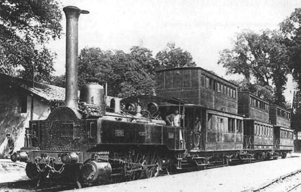 Один из первых двухэтажных поездов. Изображение № 4.
