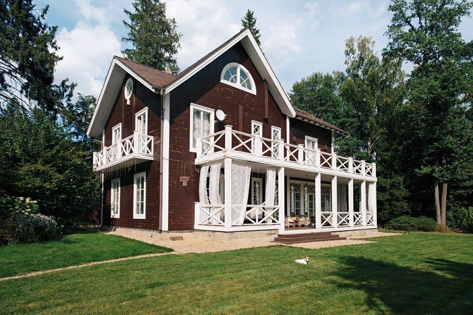 Девятикомнатный дом вдореволюционном стиле. Изображение № 2.