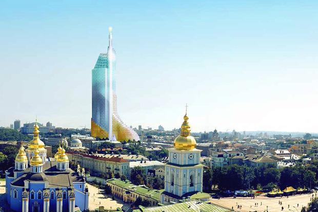 На бумаге: 8 нереализованных архитектурных проектов в Киеве. Зображення № 77.